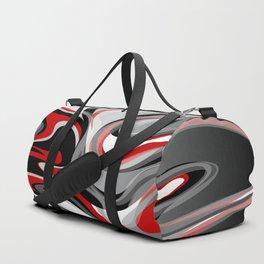 Liquify - Red, Gray, Black, White Duffle Bag