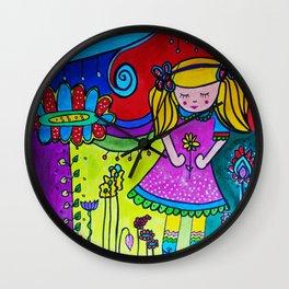 Shilou Dreaming Wall Clock