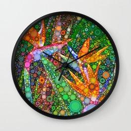 Fiesta in Paradise Wall Clock