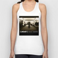 library Tank Tops featuring Library by Phil Perkins