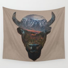 Bison Peak Wall Tapestry