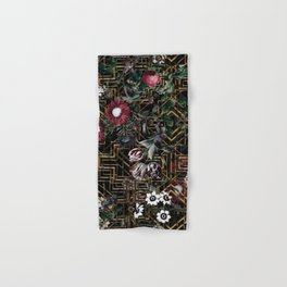 GATSBY and FLORAL pattern Hand & Bath Towel
