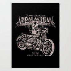 White Lightning Art Print