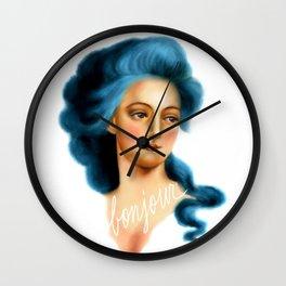 Bonjour Wall Clock