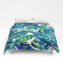 green Tropicana  Comforters