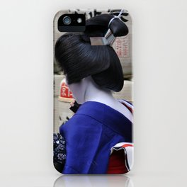 Geisha Maiko Photo iPhone Case