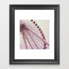 Farris Wheel Framed Art Print
