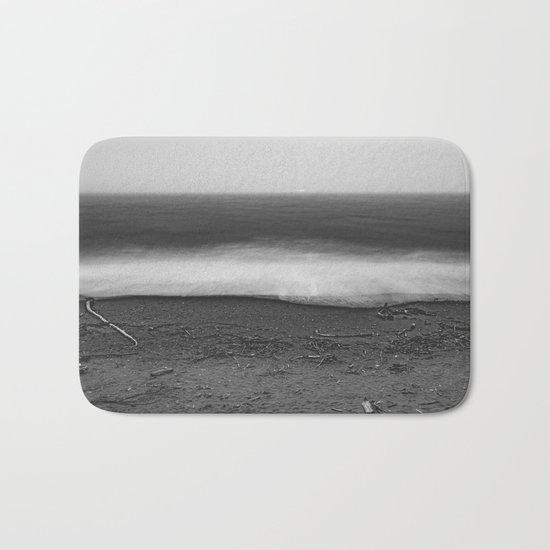 Ocean - 10 Black and White Bath Mat