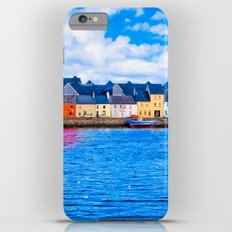 View Of The Long Walk From The Claddagh - Galway Ireland iPhone 6s Plus Slim Case