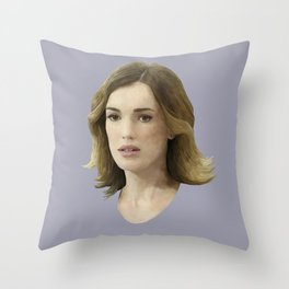 Jemma Simmons Throw Pillow