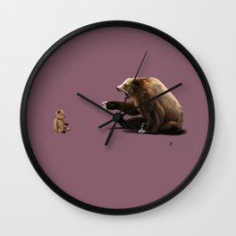 Brunt (Colour) Wall Clock