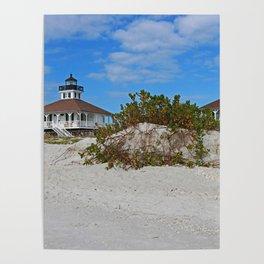 Dunes on Gasparilla I Poster