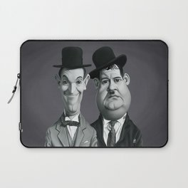 Laurel and Hardy Laptop Sleeve