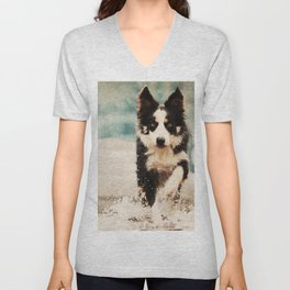 The Best Friends - Snow's Border Unisex V-Neck