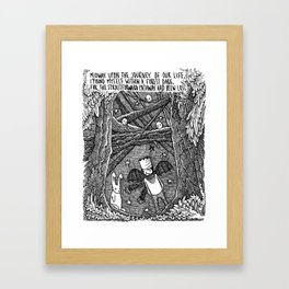 Dante's Inferno Framed Art Print