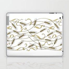 Art Nouveau - Scattered Wheat Laptop & iPad Skin