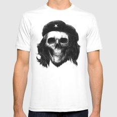 Che Guevara Mens Fitted Tee MEDIUM White