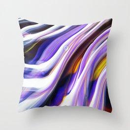 Purple Surple Throw Pillow