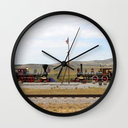 Red Vs Blue Wall Clock