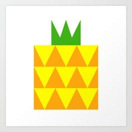 Ong Lai / Pineapple Art Print