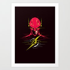 Speed force Art Print