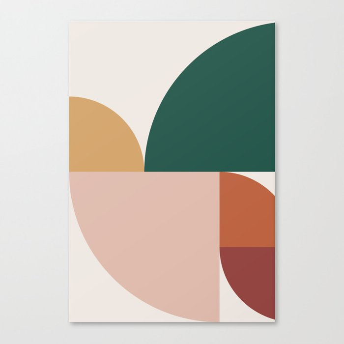 Abstract Geometric 11 Leinwanddruck