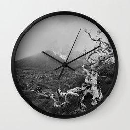 Patagonia Landscapes Wall Clock