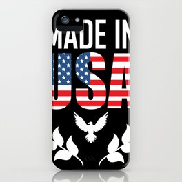 usa iPhone Case