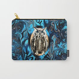 Burn the Midnight Owl Carry-All Pouch
