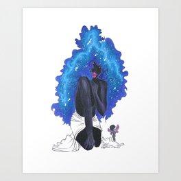 Among the Stars Art Print