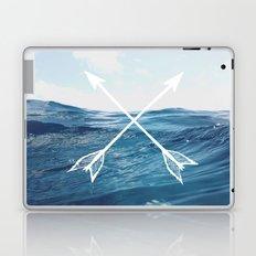 Deep sea arrows Laptop & iPad Skin