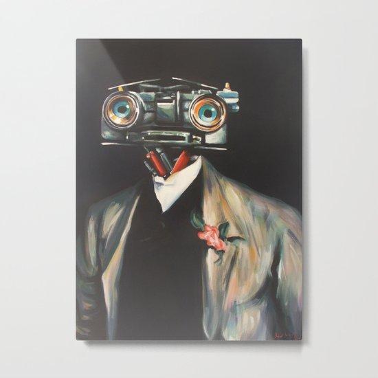 Johnny V, Esq. Metal Print