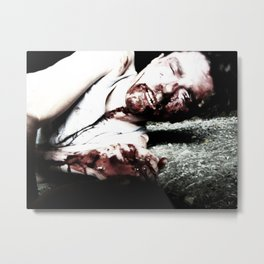 Grim Series Metal Print