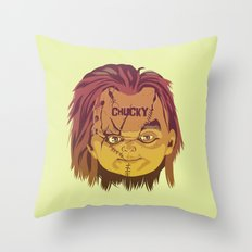 CHUCKY Throw Pillow