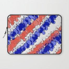 Patriotic Splatter Laptop Sleeve