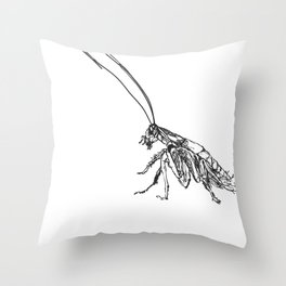 Cucaracha #6 Throw Pillow