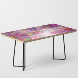 Color Burst Coffee Table