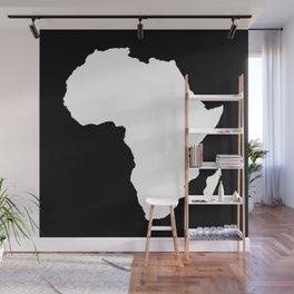 Black Audacious Africa Wall Mural