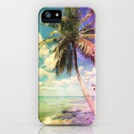 Prismatic Palm iPhone Case