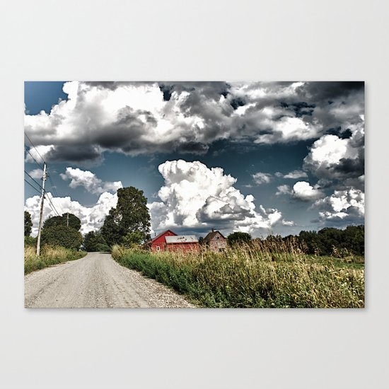 Backroads Canvas Print