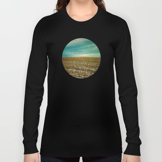 Corn Fields Long Sleeve T-shirt