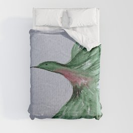 Hummingbird Abstract Comforters