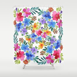 Floral medley Shower Curtain