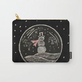 snowmen bubbles Carry-All Pouch