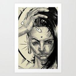 001 Small Portrait Art Print