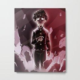Mob Psycho 100 Metal Print