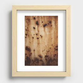Rust at it's best Recessed Framed Print