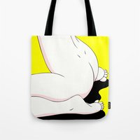 sushi Tote Bags featuring SUSHI by Takeru Amano