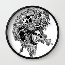 HUMAN FORM DEVINE / no 2 Wall Clock