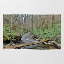 Watery Path Rug